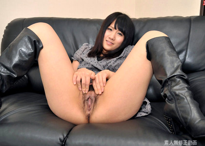 Japanese Runa Harada Winters Block Teen